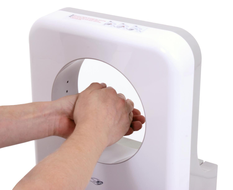 secador-de-manos-electrónico